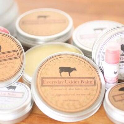 udderbalm recipe labels