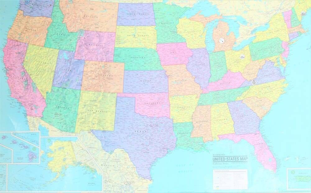 homeschool us map