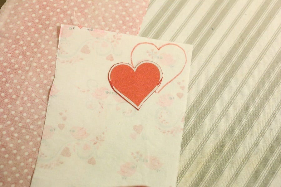 Cut out Heart shape