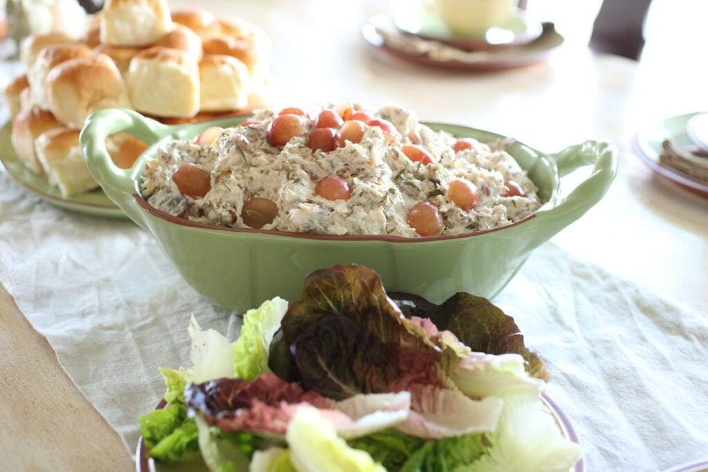 Chicken salad tarragon