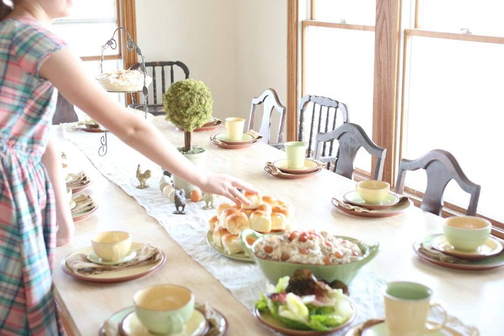 Spring party tarragon chicken salad