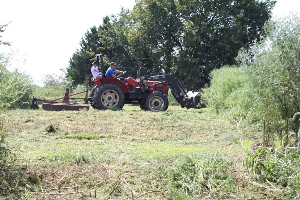 tractor farm homestead children