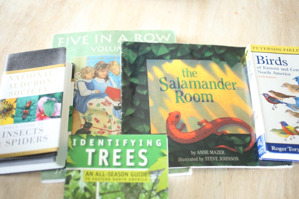books for nature hunt