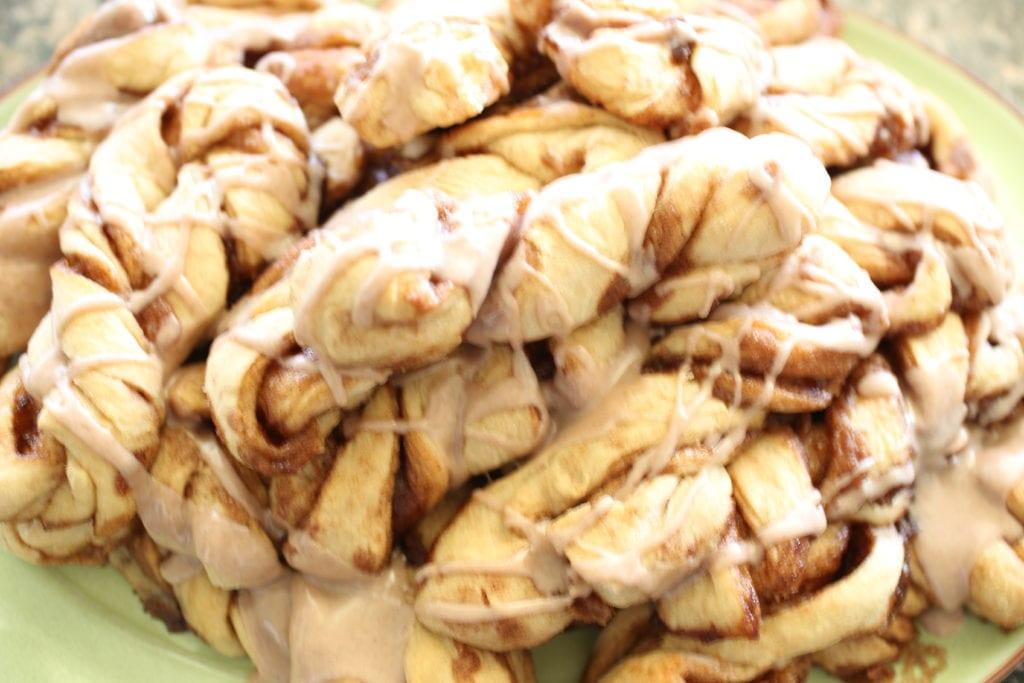 cinnamon twist glaze