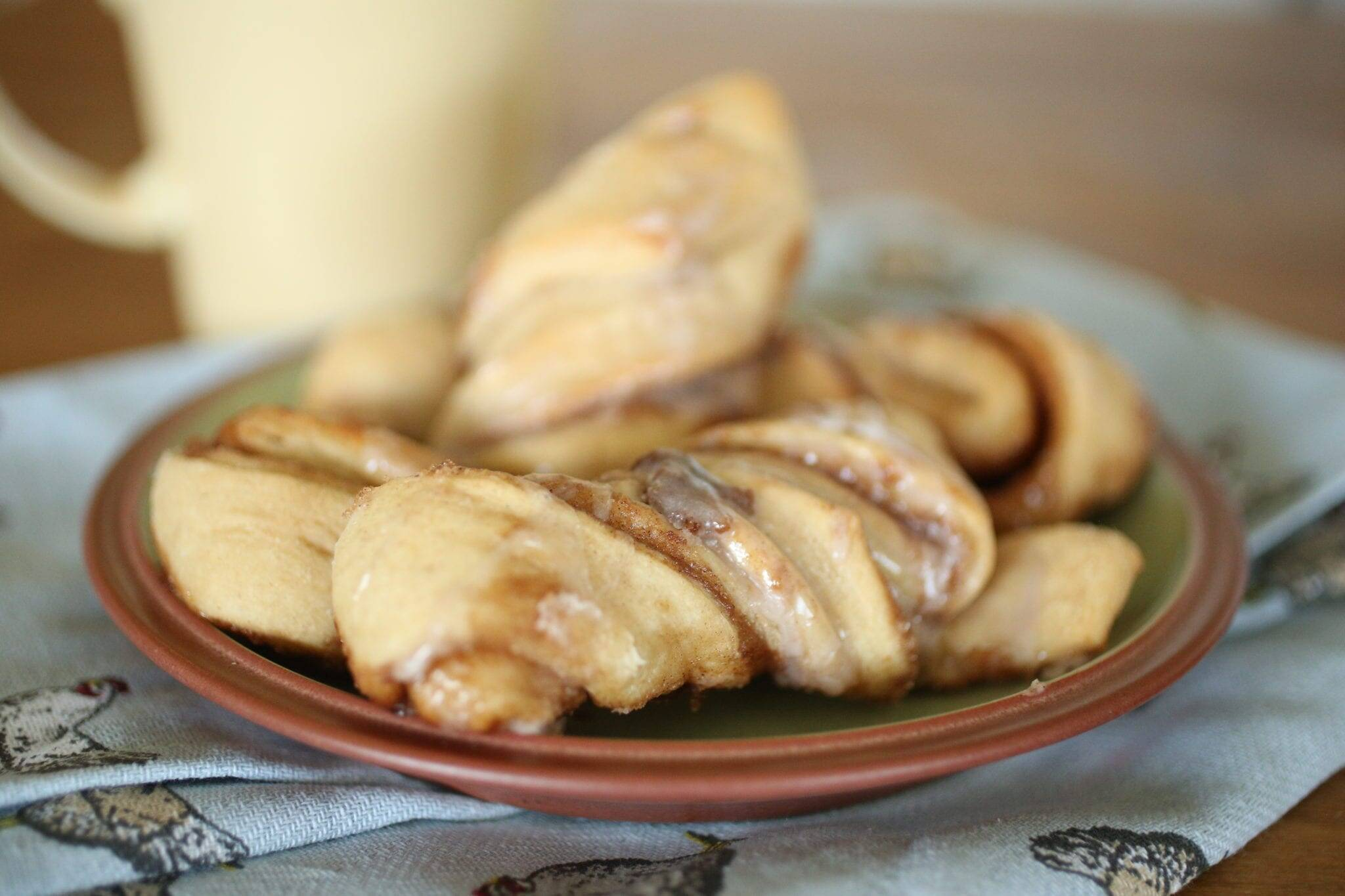 Simple and Easy Cinnamon Twists