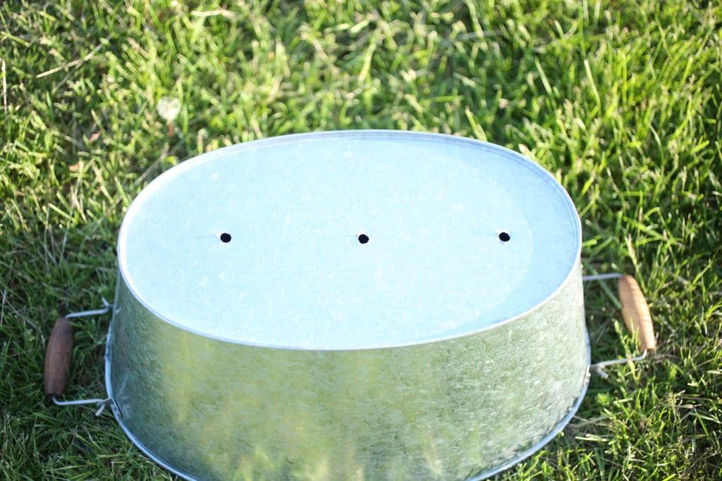 drainage container lavender