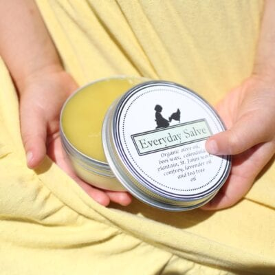 Homemade Salve–Plus Free Printable Labels