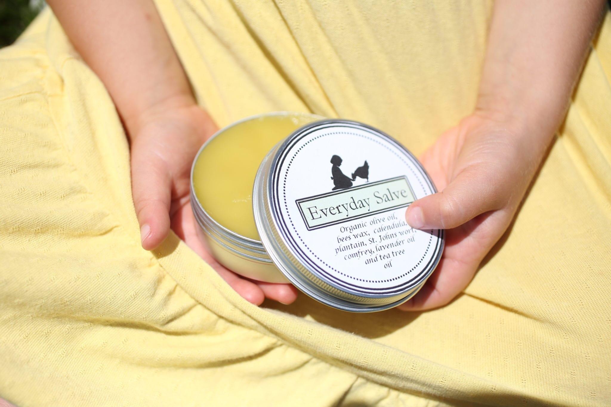 Homemade Salve–Plus Free Printable Labels