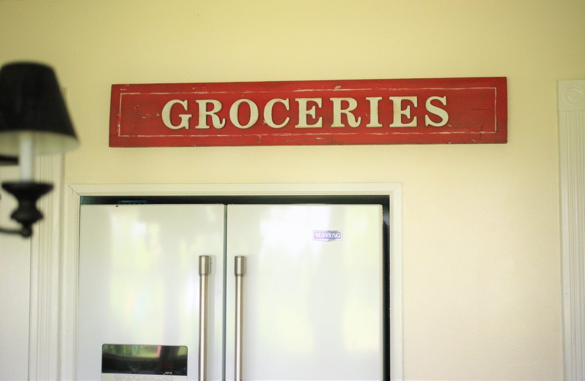 Farmhouse Groceries sign