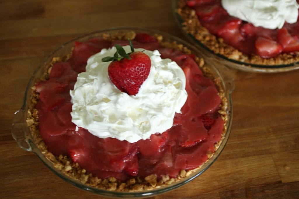 Whole Fresh Strawberry Pie