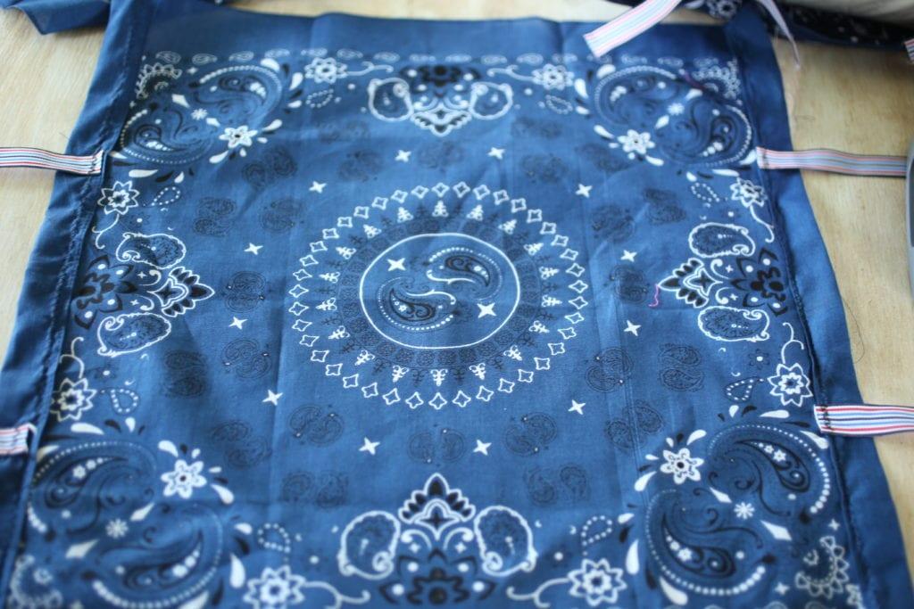 ribbons handkerchief pillow