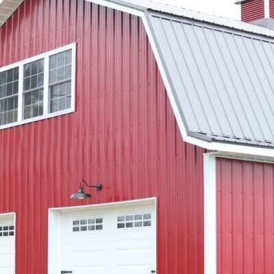 Red Metal Barn–Upstairs Loft Update