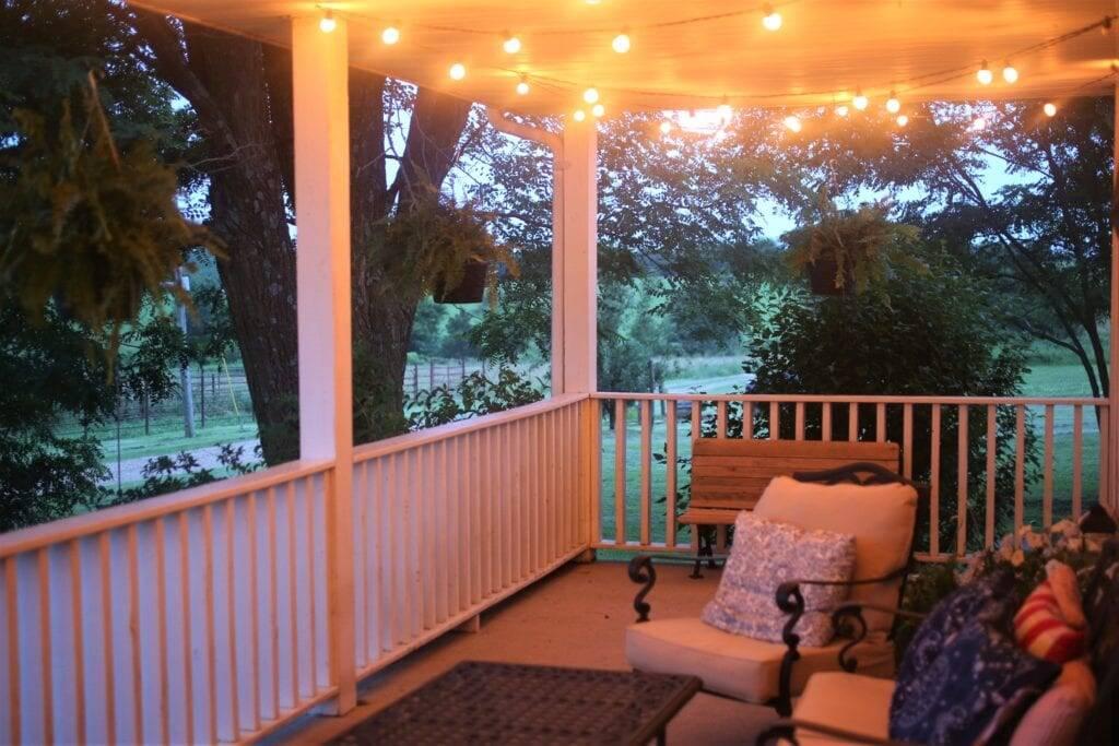 Evening porch