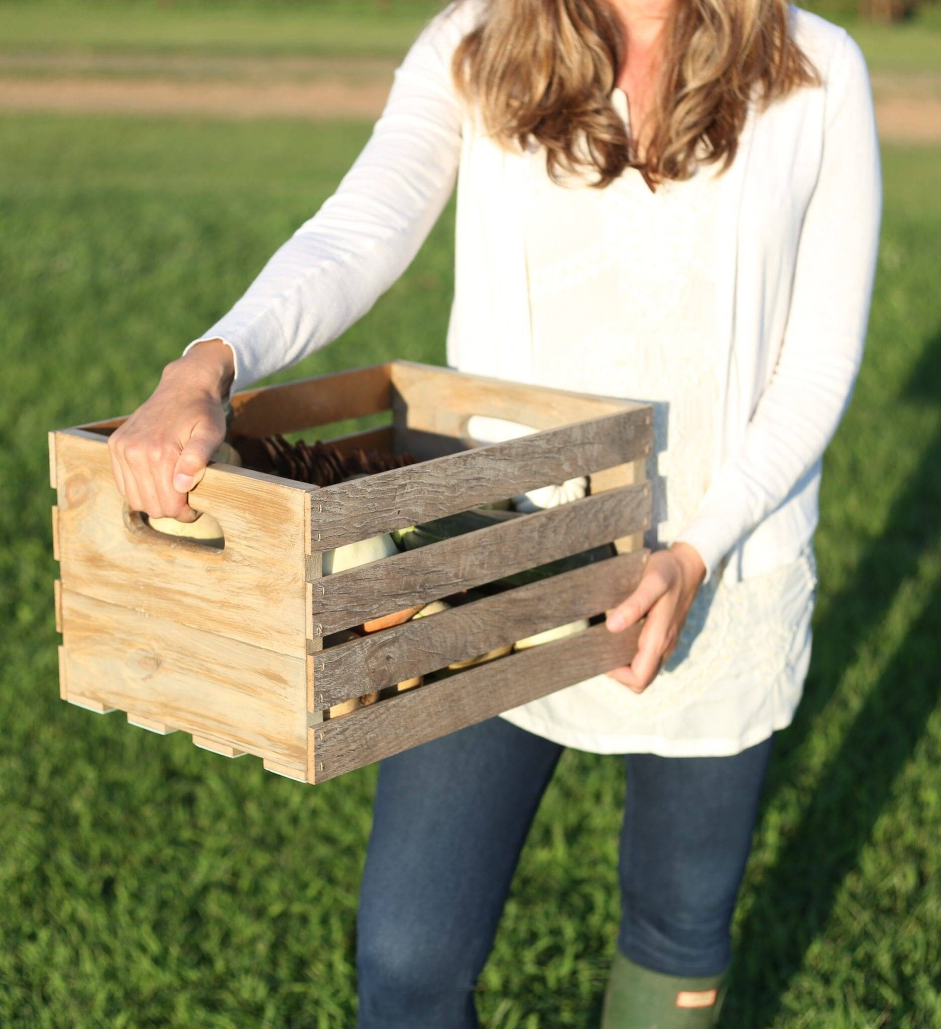 How to Make Crates from Scrap Flooring and Lumber