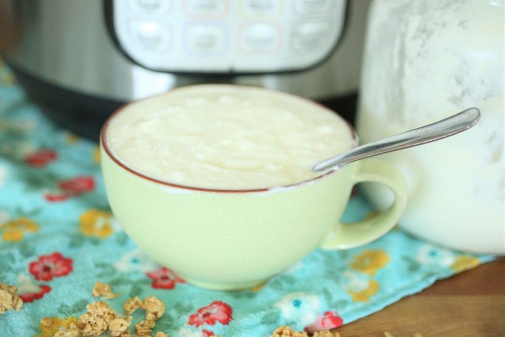 raw milk yogurt