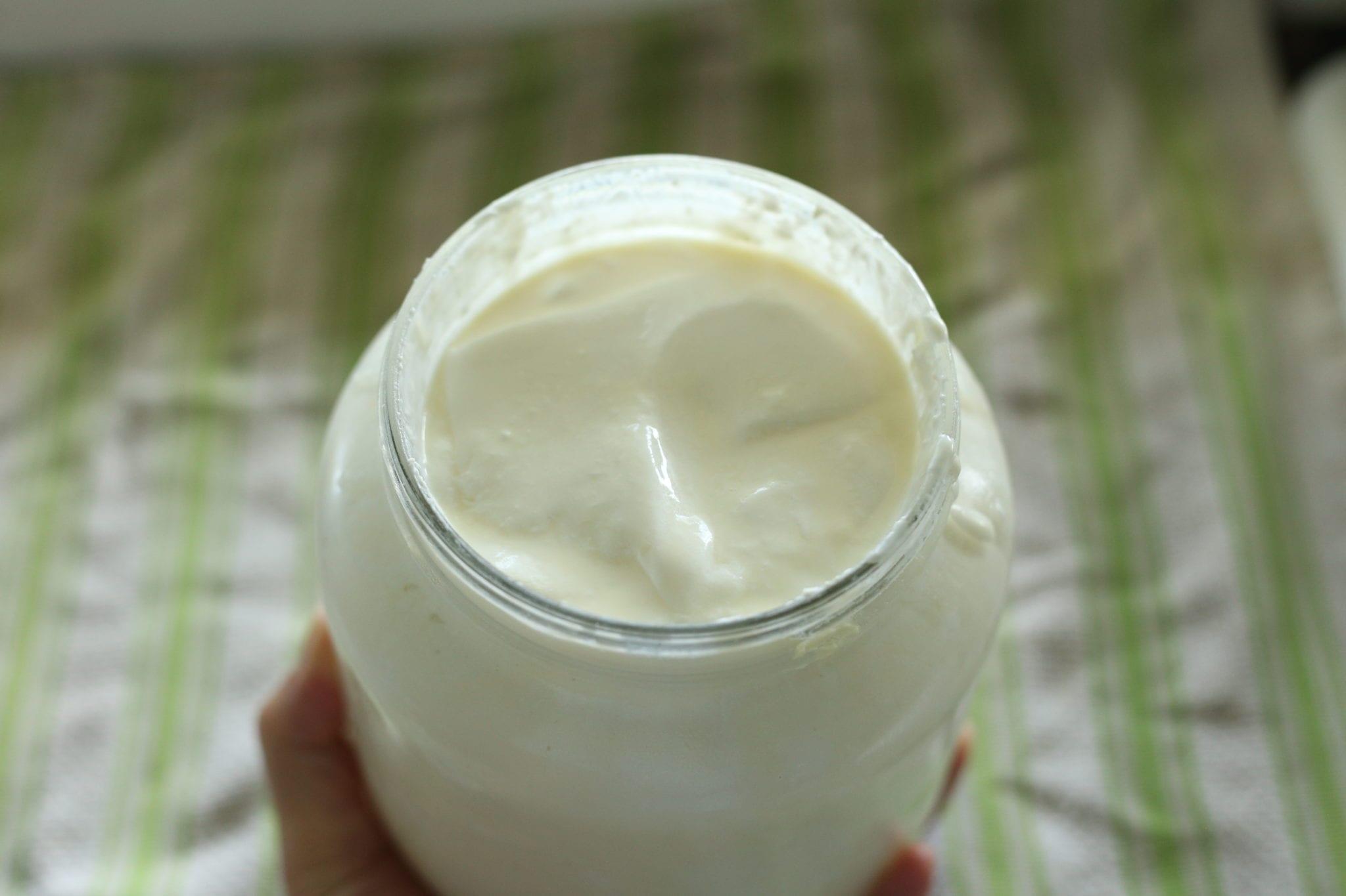 Raw Milk Yogurt in the Instant Pot