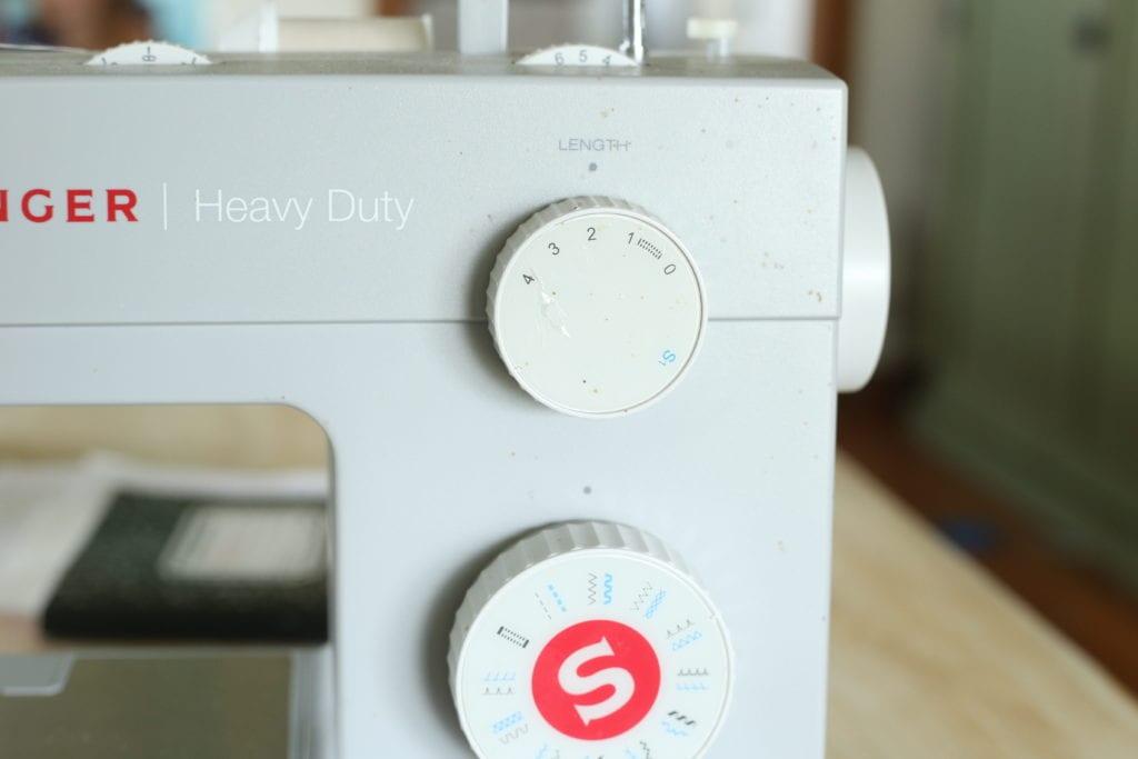sewing machine settings