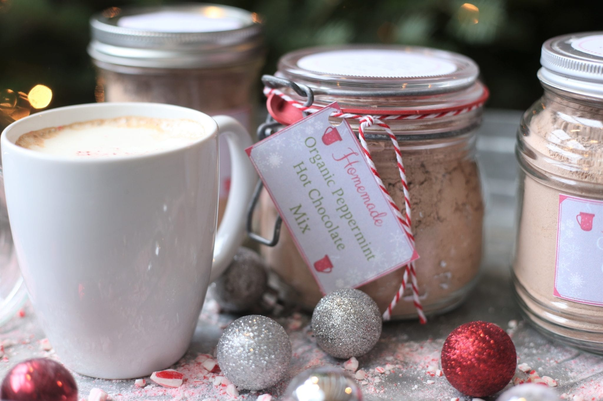 Homemade Organic Hot Chocolate Mix–A Great Gift