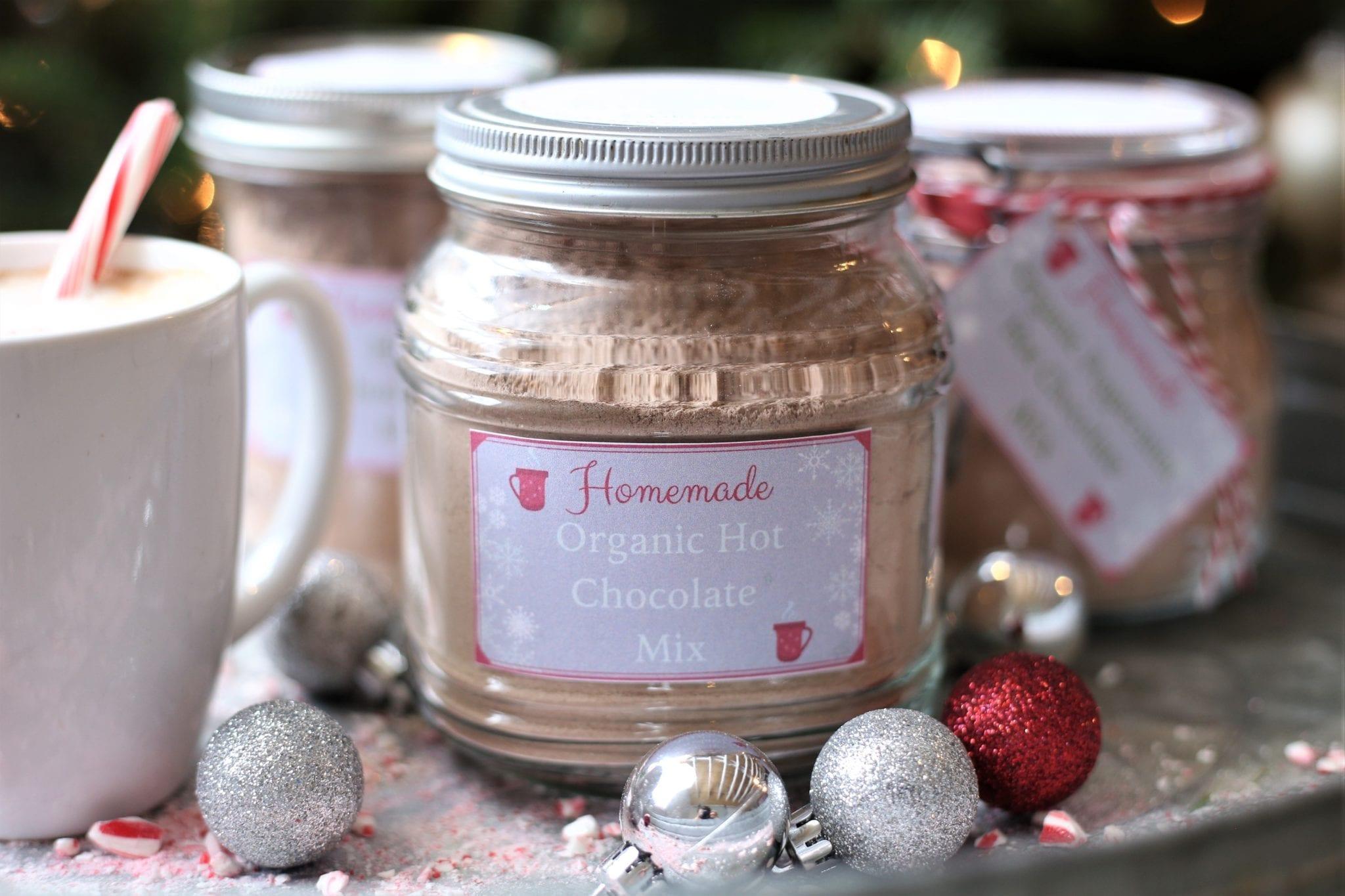 Homemade Organic Hot Chocolate Mix