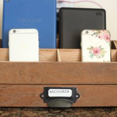 How to Make a Custom Charging Station or Mail Organizer, from Scrap Flooring or Lumber
