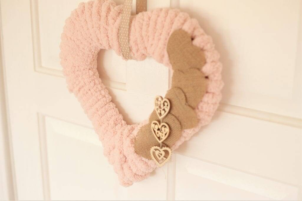 Sweet Heart Wreath