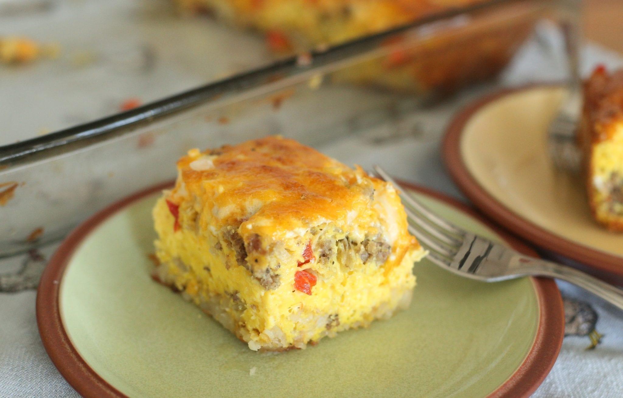 Nourishing and Easy Egg Casserole