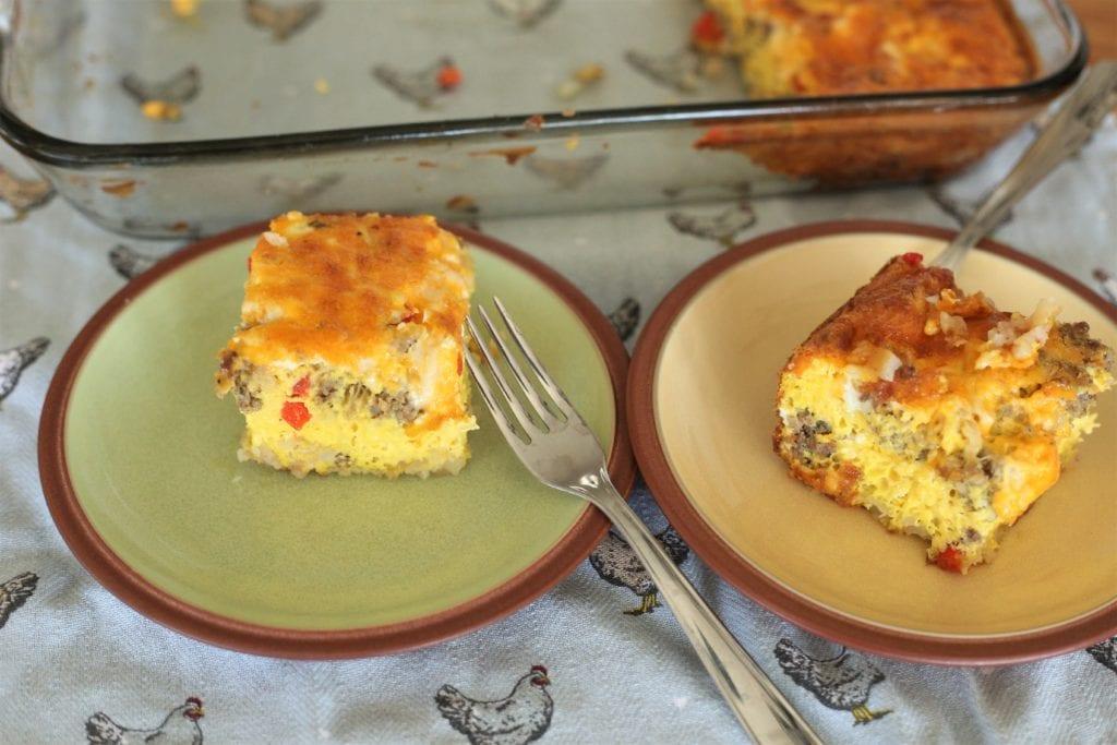 Simple egg casserole