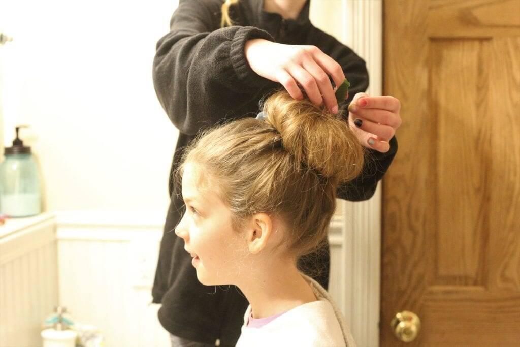 Hair salon homeschooling