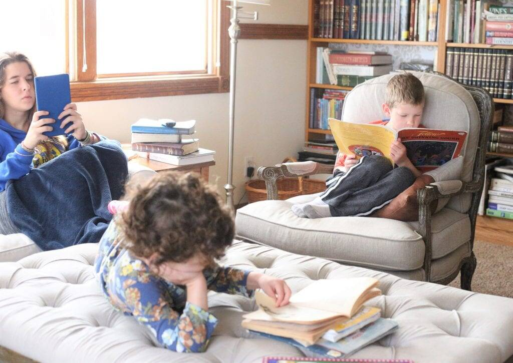 homeschooling through times of transition
