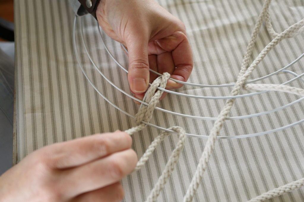 starting weaving