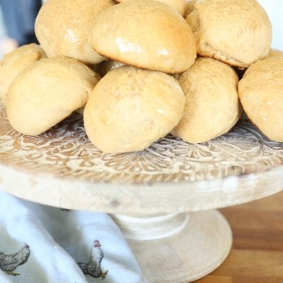 Honey Butter Yeast Rolls