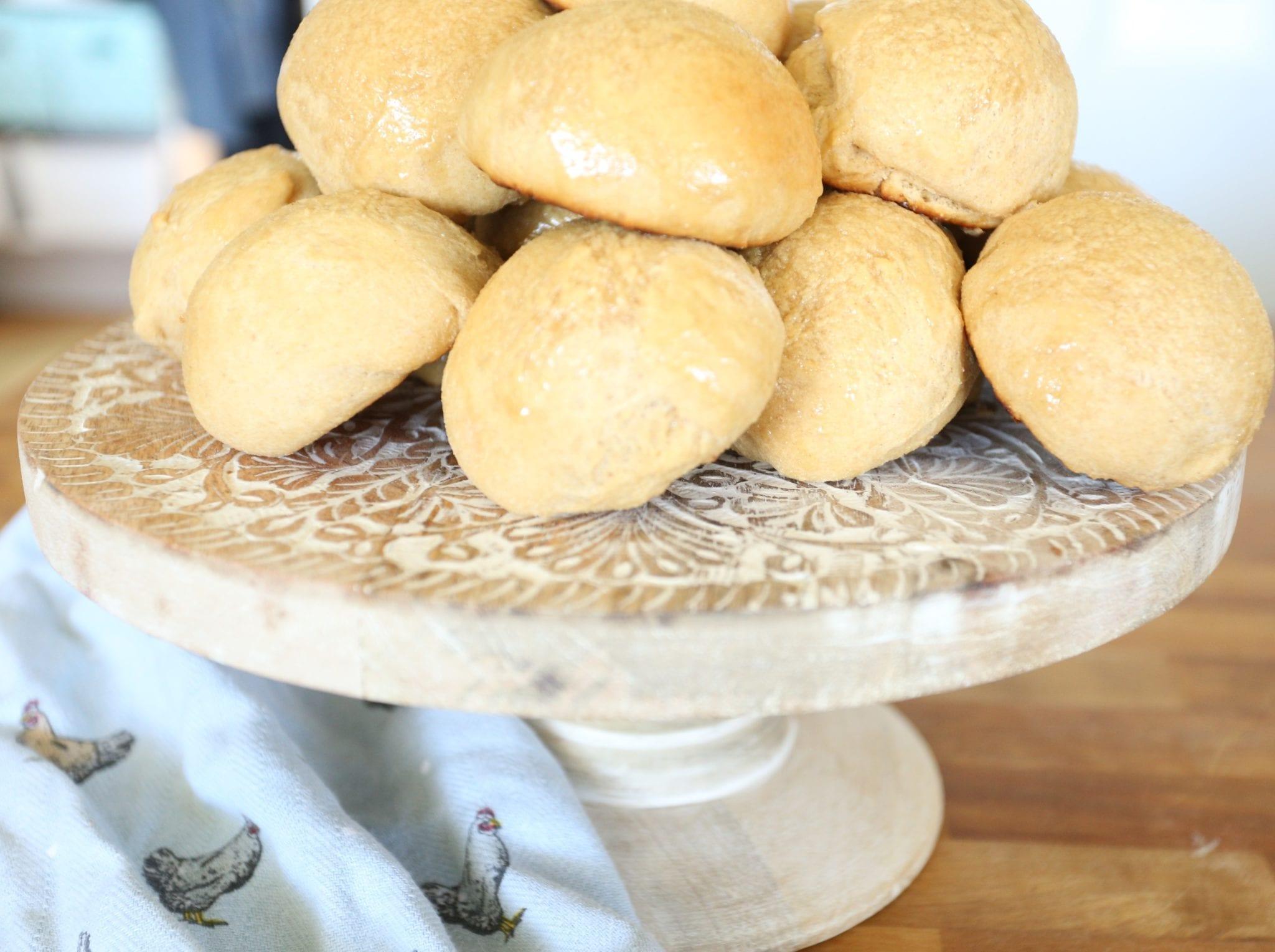 Honey Butter Yeast Rolls