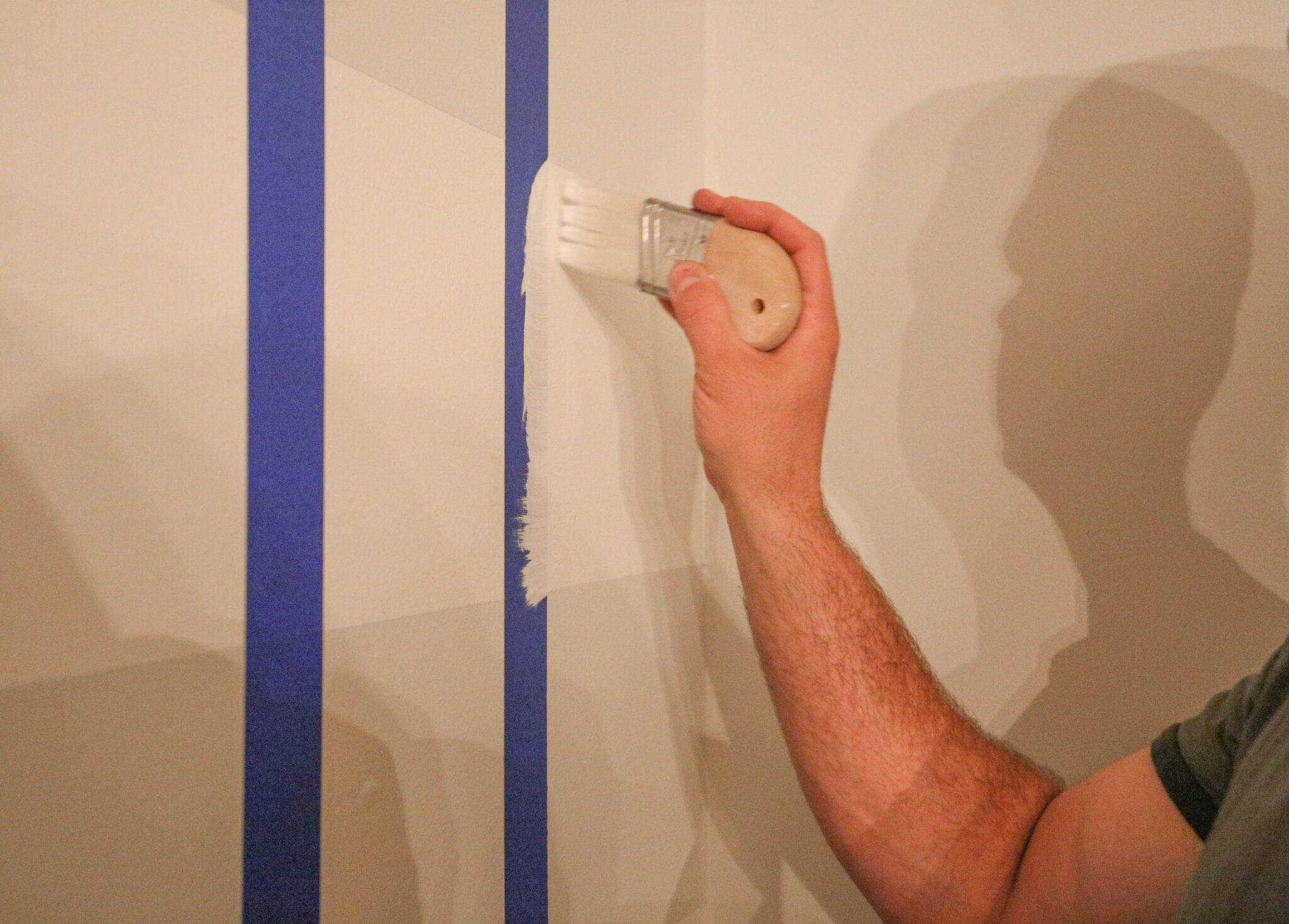 sealing tape paint brush