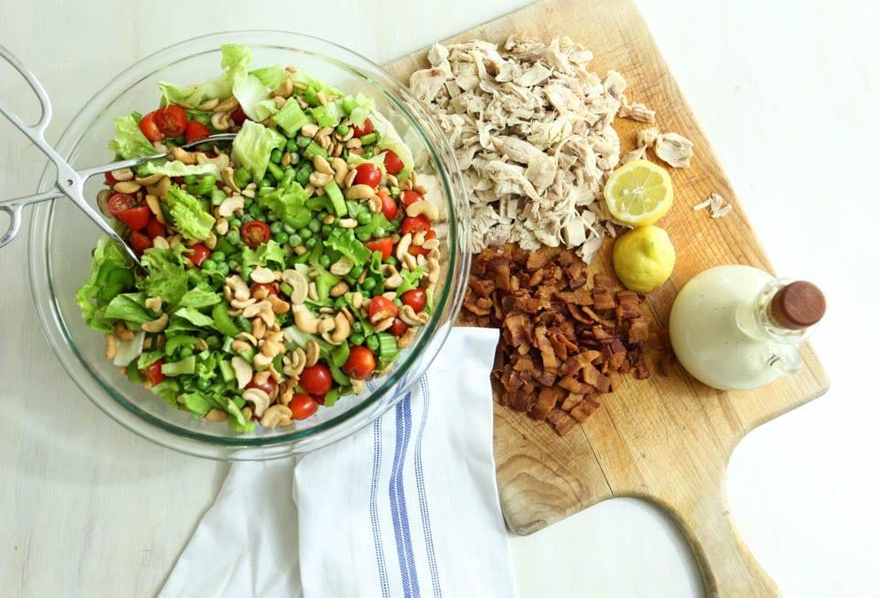 Cashew Pea Salad