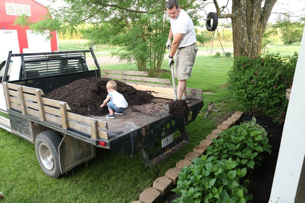 mulch for front yard refresh