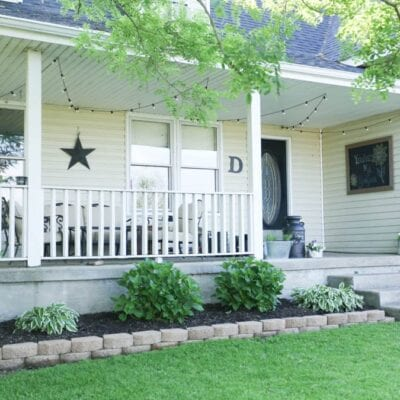 How to Level Edging Stones–Front Yard Refresh
