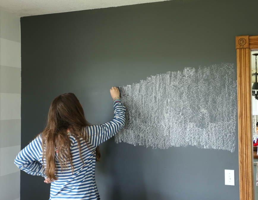 seasoning chalkboard wall