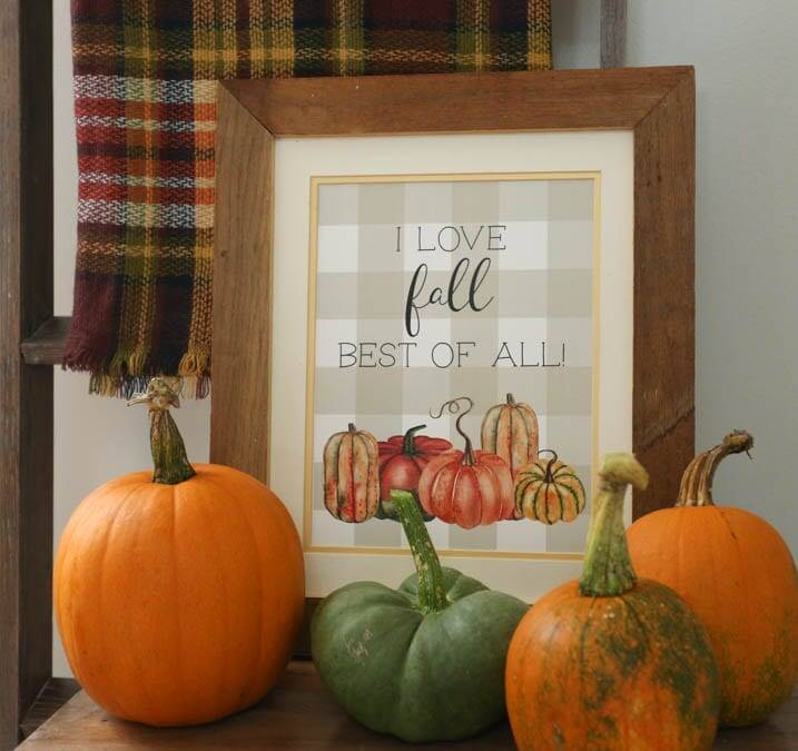 Fall is best of all printable