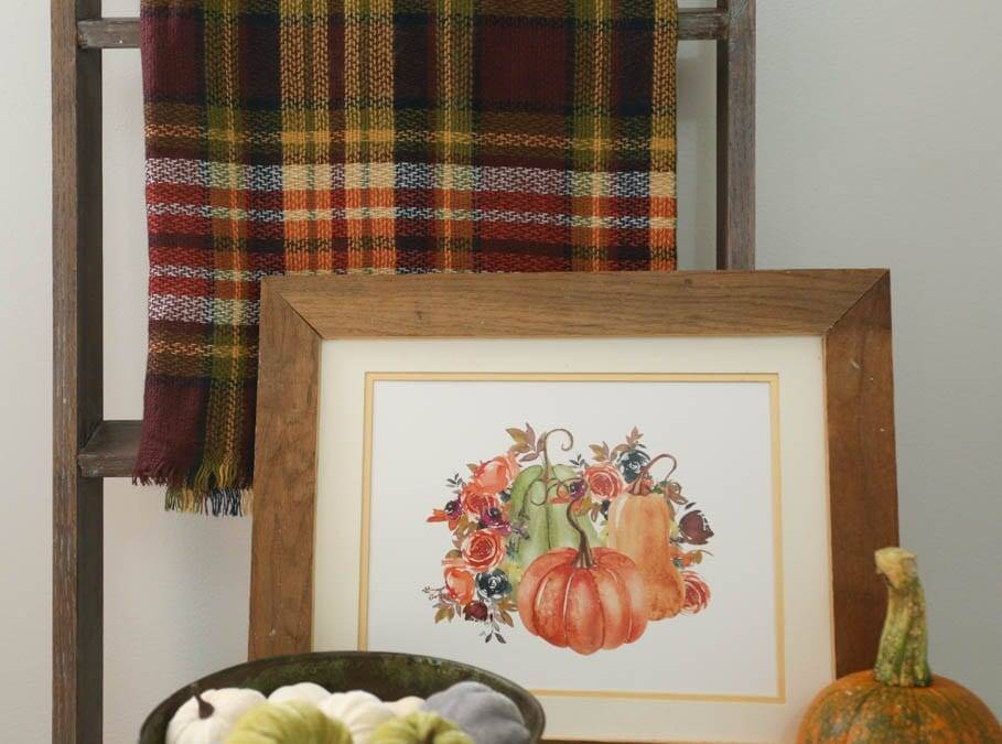 fancy fall farmhouse print