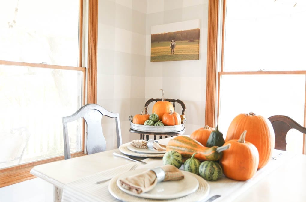 DIY photography dining room