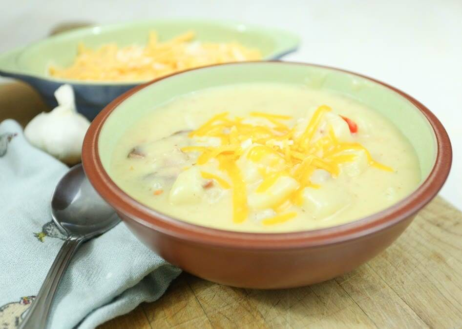 made from scratch potato soup