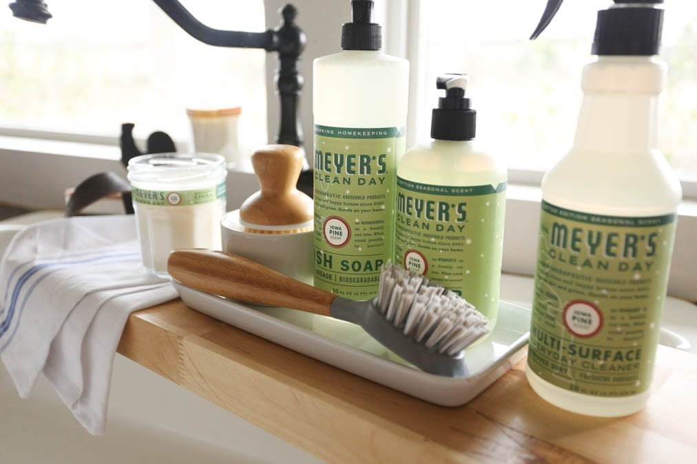 Free Mrs. Meyer's Cleaning Set