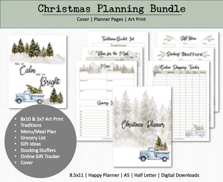 christmas planer