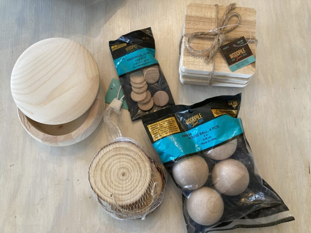 wood supplies for woodburning