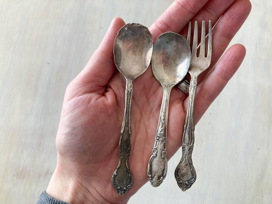 Baby Size Silverware