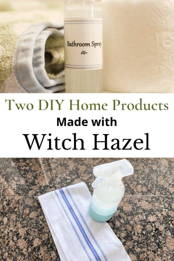 Diy Cleaner with witch hazel