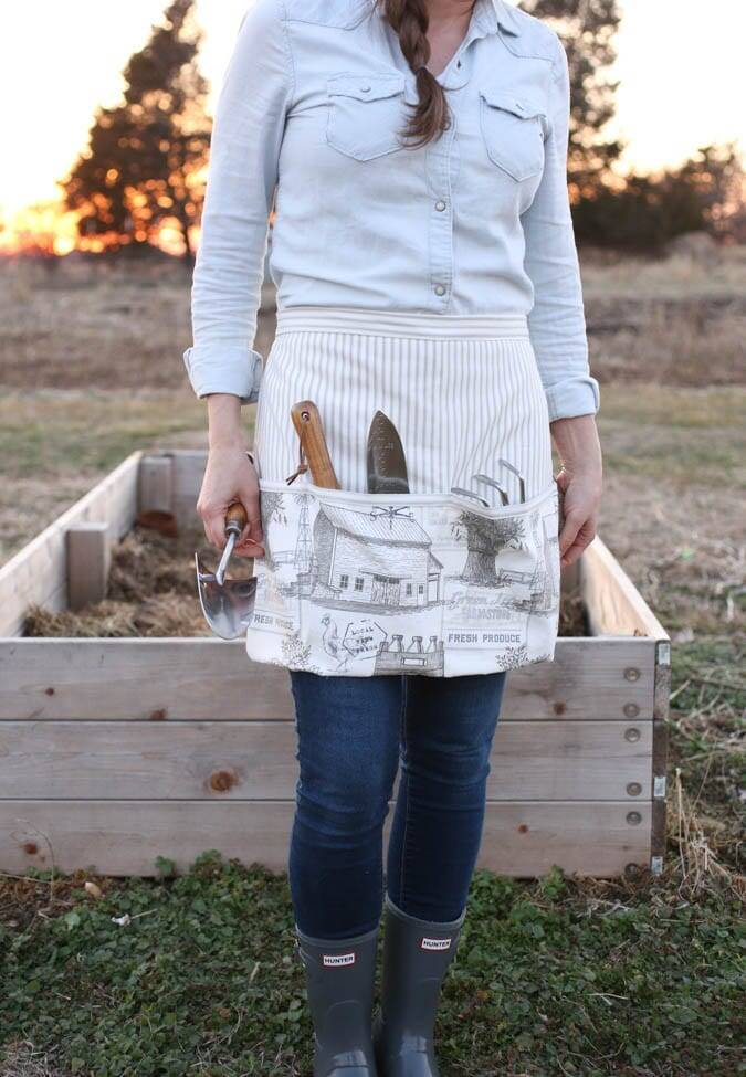 How To– Sewing A Garden Apron