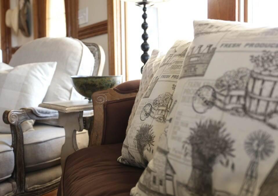 easy farmhouse envelope pillow