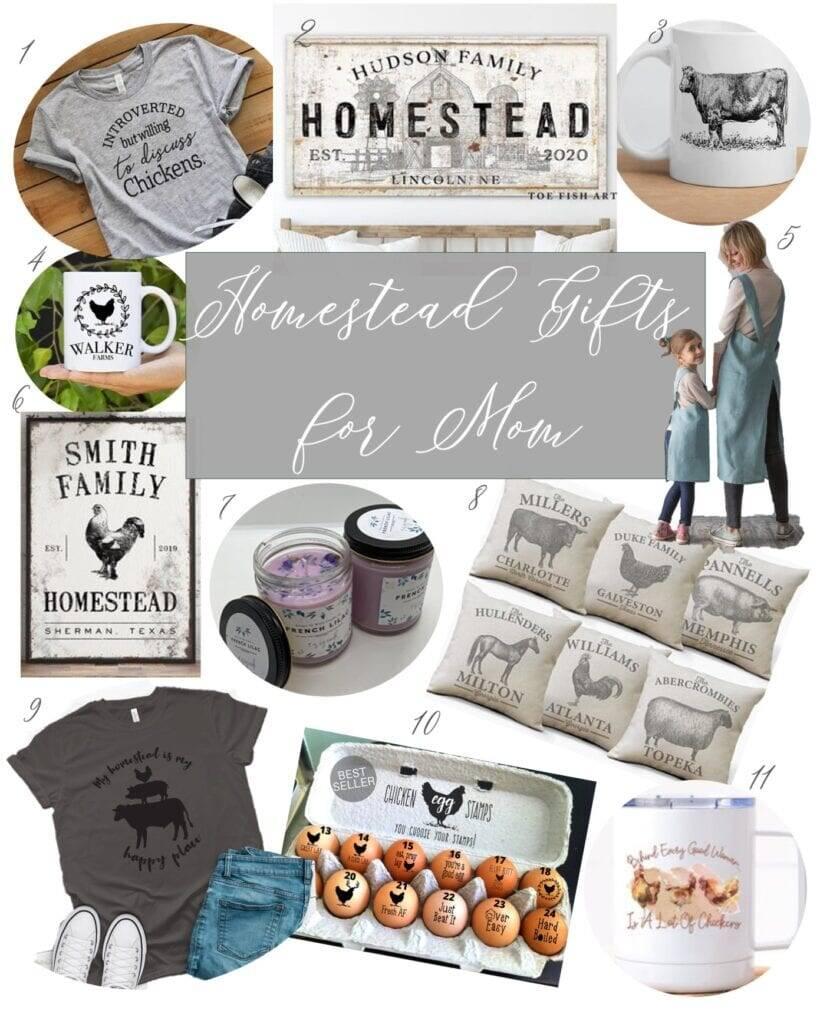 Etsy Gift Guide Homesteading Mom