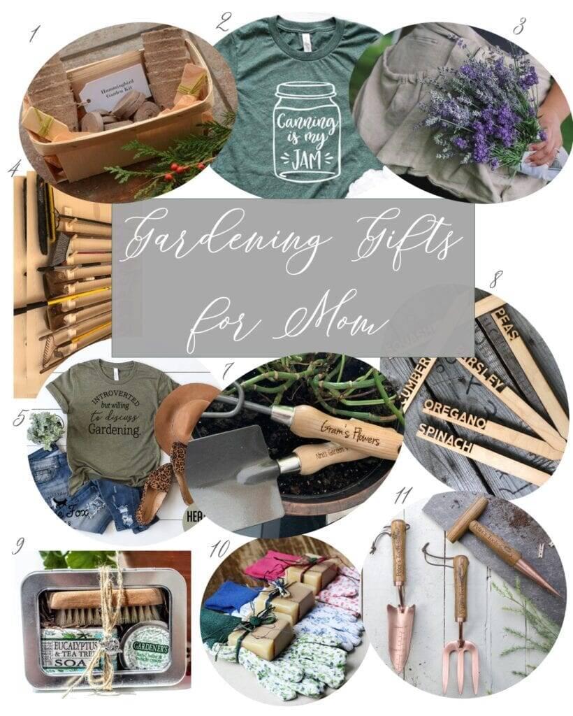 Etsy Gardening Gifts for Homesteading Mom